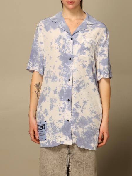 Mcq: Camicia Eden High by McQ in seta tie dye