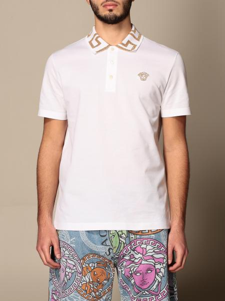 Polo shirt men Versace