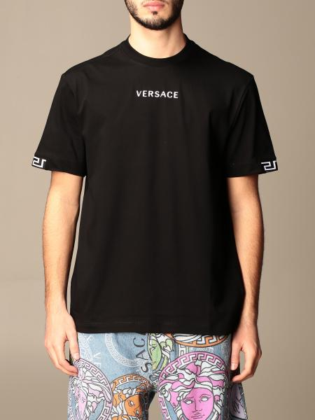 Versace cotton t-shirt with logo