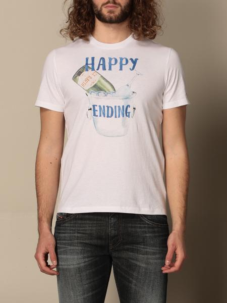 MC2 Saint Barth t-shirt in cotton with happy ending print