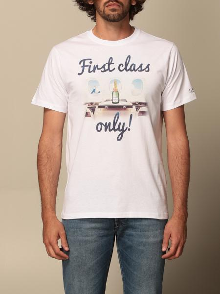 T-shirt MC2 Saint Barth in cotone con stampa
