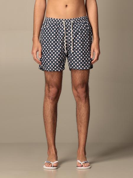 MC2 Saint Barth swim shorts in patterned nylon