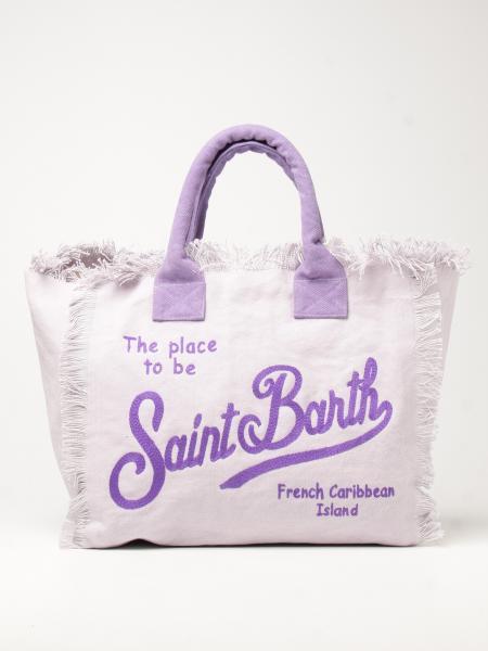 MC2 Saint Barth Vanity shopping bag in canvas