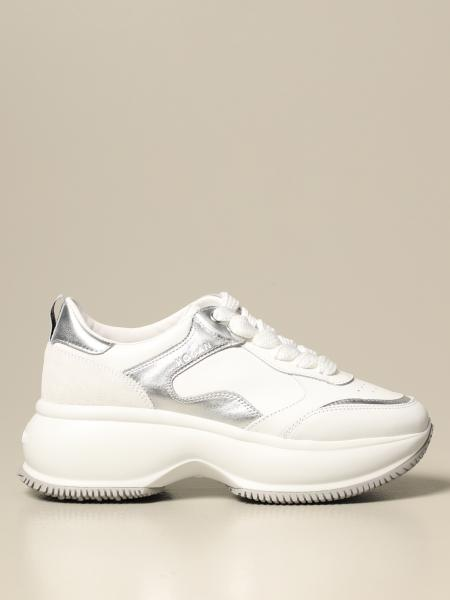 Hogan: Sneakers Maxi I Active Hogan in pelle
