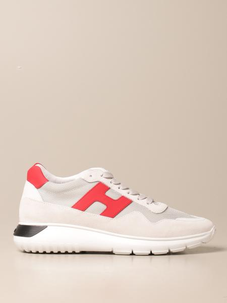Interactive3 Hogan sneakers in suede leather and micro mesh