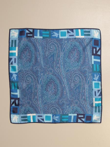 Etro scarf in paisley patterned silk
