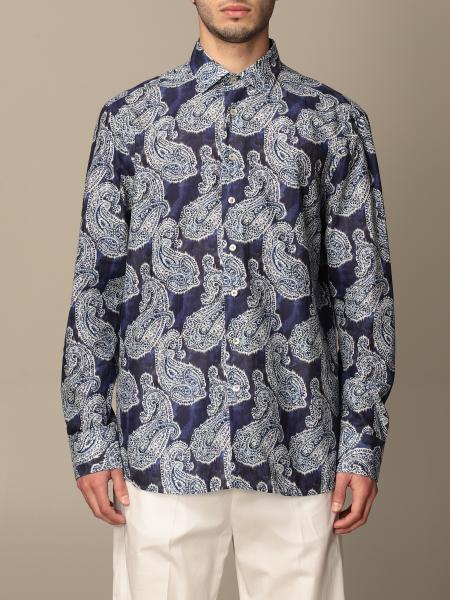 Camicia Etro in cotone a fantasia paisley
