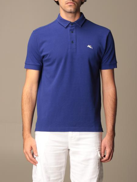 Etro polo shirt in basic cotton