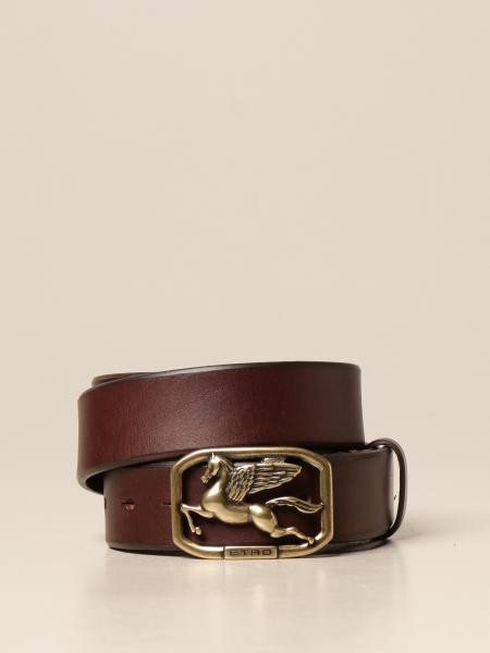 Pegaso Etro leather belt