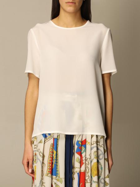 Etro women: Etro basic silk sweater