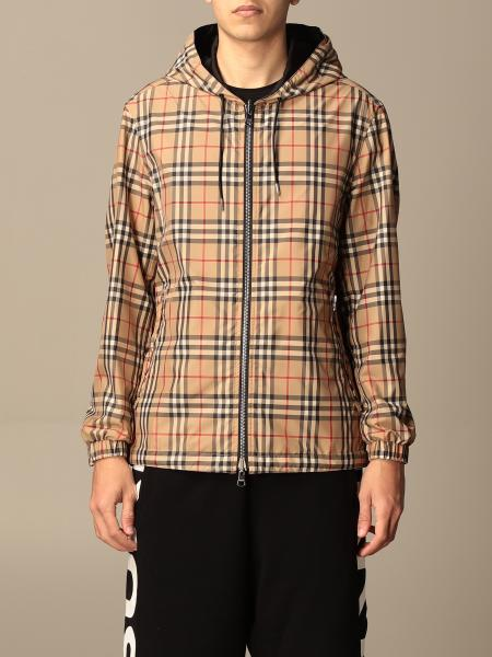 Burberry reversible jacket in recycled polyester with vintage check pattern