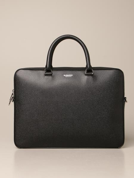 Burberry business bag in grained leather