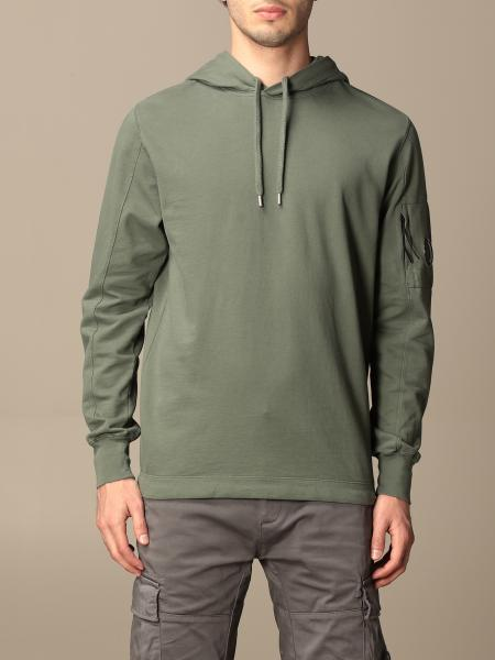 Hoodie C.P. Company in cotton with logo