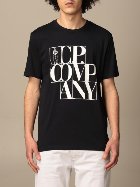 C.P. T-shirt Company in cotton with big logo