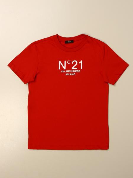 N°21 徽标棉质T恤