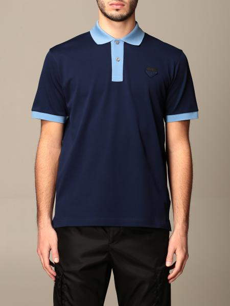 Polo shirt men Prada