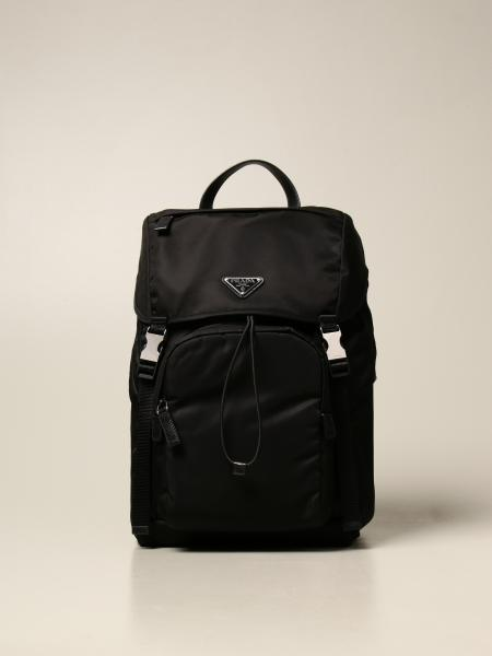 Prada backpack in technical nylon with triangular logo