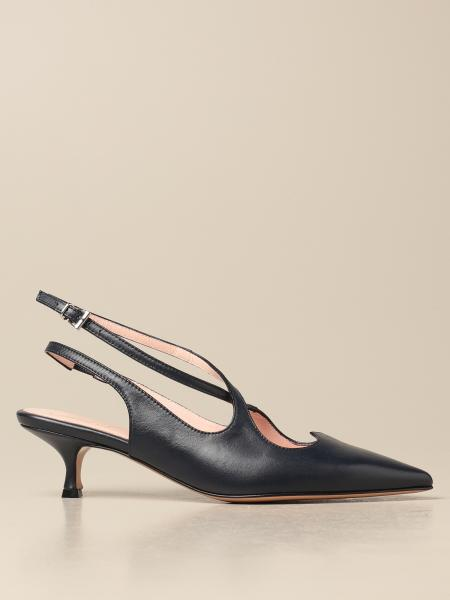 Anna F.: Anna F. slingbacks in smooth leather
