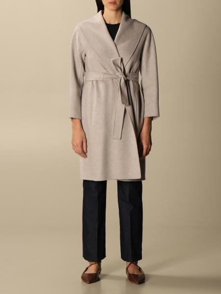 Messi S Max Mara virgin wool coat