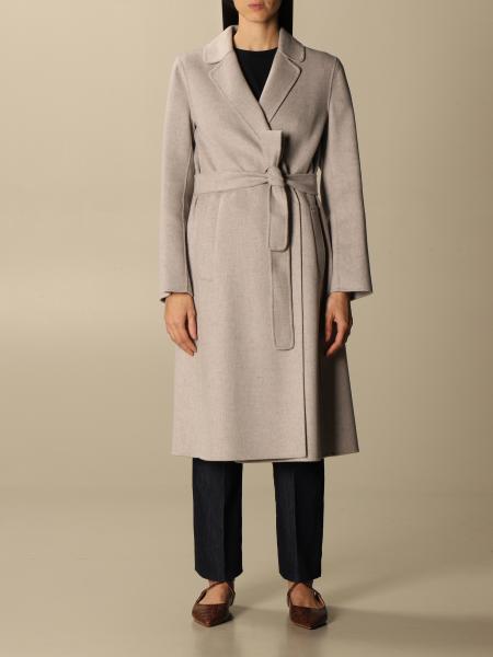 S Max Mara: Cappotto Pauline S Max Mara in lana vergine