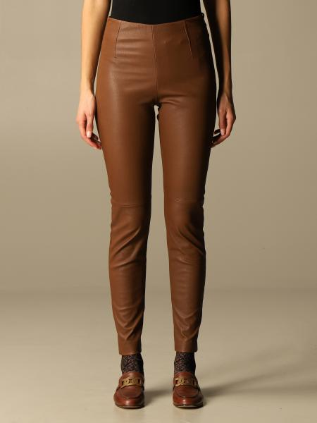 Sonni S Max Mara trousers in real leather