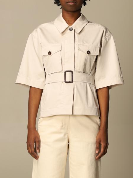 S Max Mara shirt in cotton satin