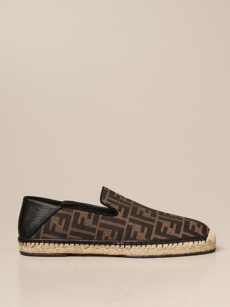 Fendi espadrilles in FF fabric