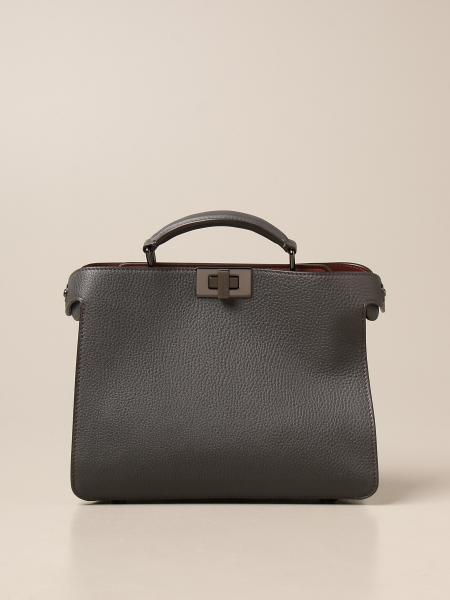 ISeeU Fendi Peekaboo bag in hammered leather