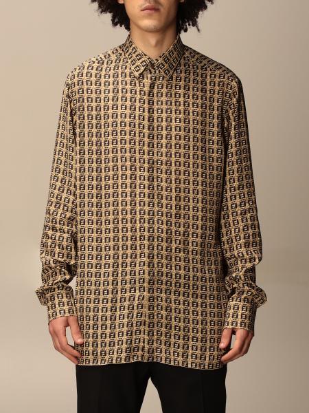 Fendi shirt with all-over FF monogram