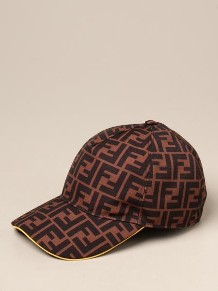 Cappello da baseball Fendi con logo FF