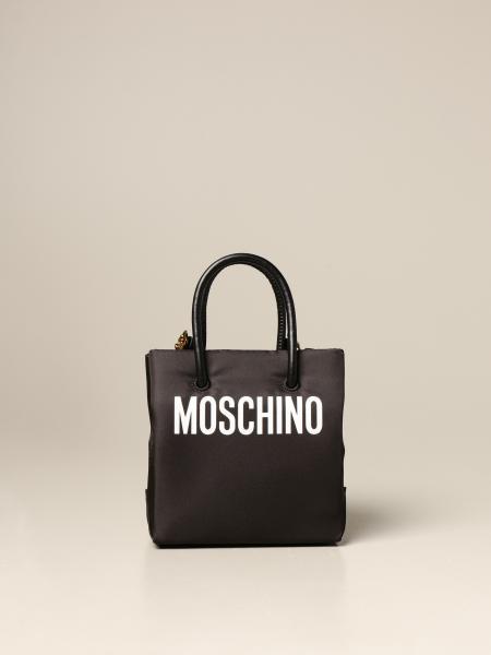 Borsa Moschino Couture in nylon con Teddy