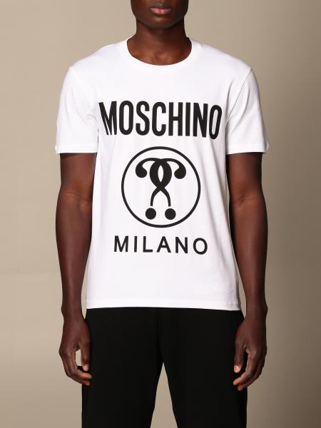 Moschino Couture cotton t-shirt with logo