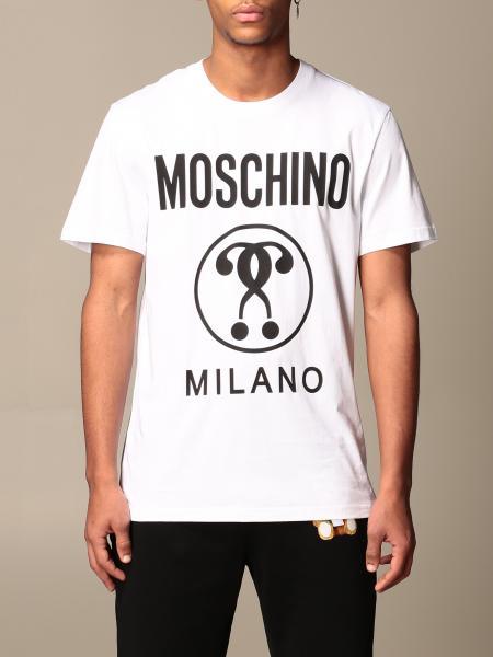 T-shirt Moschino Couture in cotone con logo