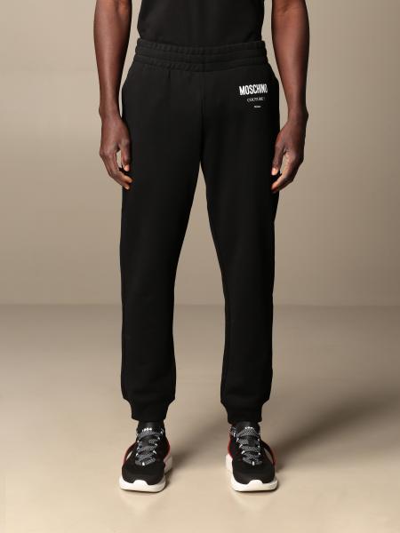 Pantalone jogging Moschino Couture in cotone con logo