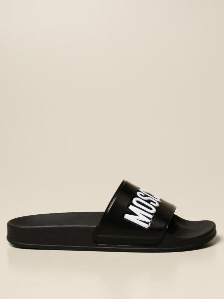 Moschino Couture rubber slide sandal