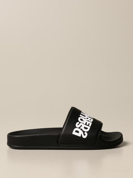 Dsquared2 Junior kids: Dsquared2 Junior sandal in rubber with print