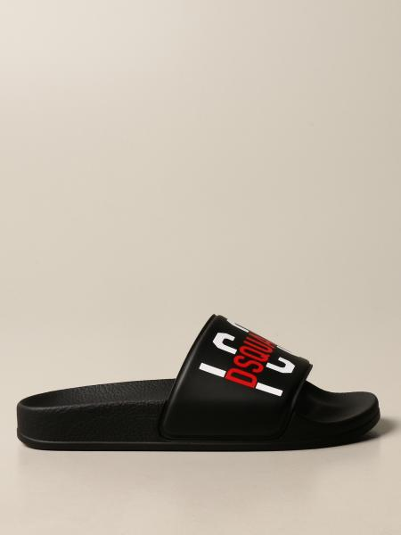 Dsquared2 Junior kids: Dsquared2 Junior sandal in rubber with Icon print