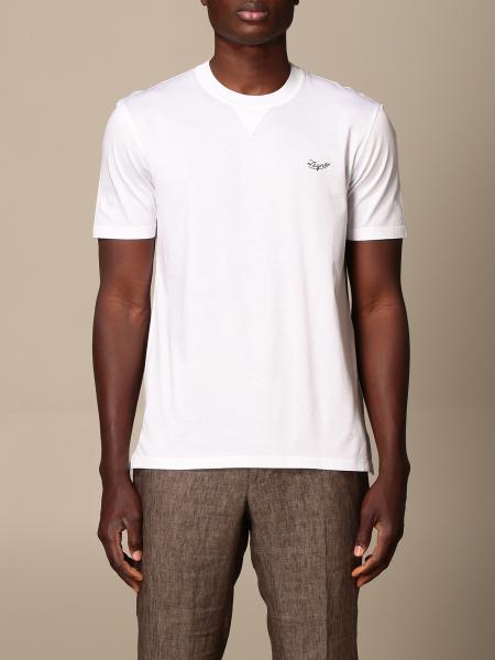 Ermenegildo Zegna: Ermenegildo Zegna T-shirt in pure cotton