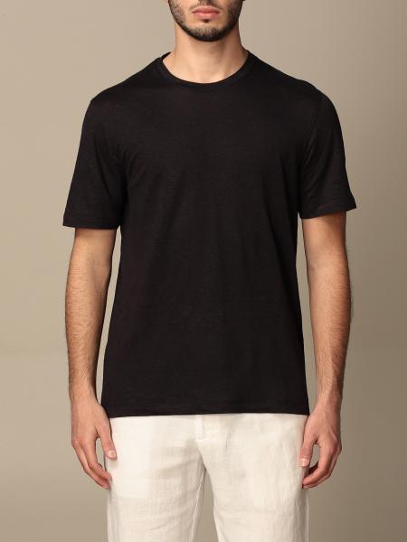 T-shirt Ermenegildo Zegna in puro lino