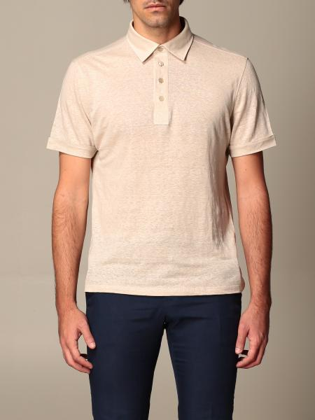Ermenegildo Zegna polo shirt in pure linen