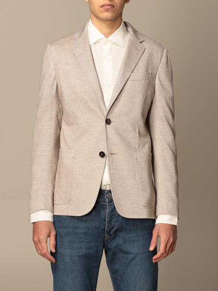 Ermenegildo Zegna single-breasted jacket in linen and cotton