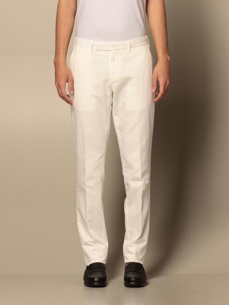 Pantalone Ermenegildo Zegna in cotone e lino