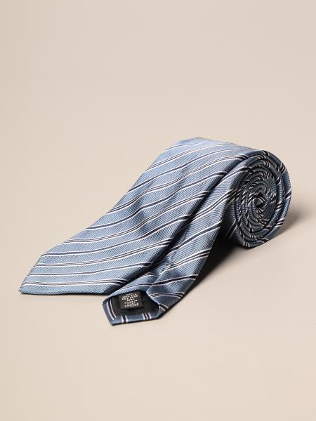 Ermenegildo Zegna: Ermenegildo Zegna tie in micro patterned silk