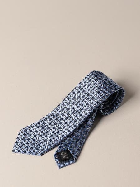 Ermenegildo Zegna: Ermenegildo Zegna tie in patterned silk
