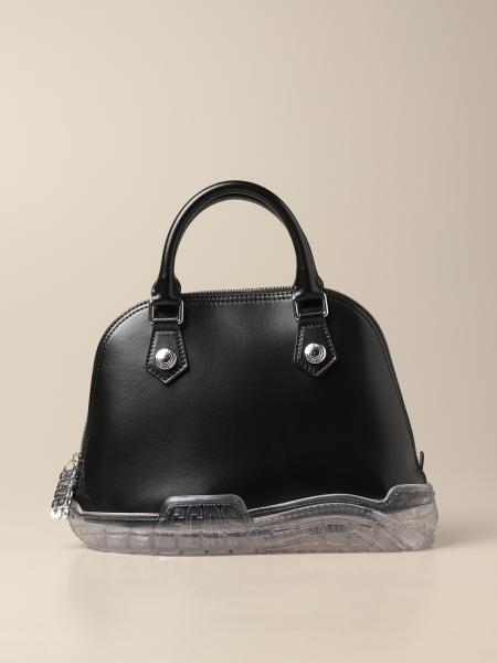 Gcds: GCSD leather bag with sneakers bottom