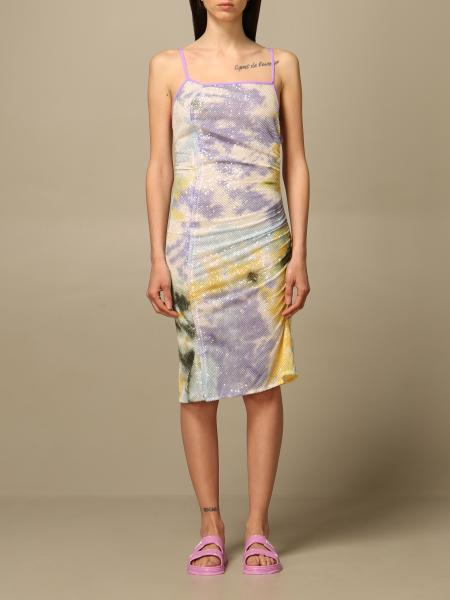 Gcds: Gcds fitted dress with sequins