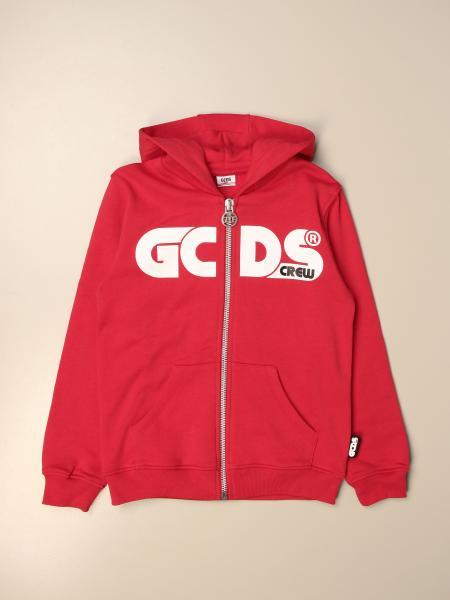 Gcds hooded sweatshirt with logo