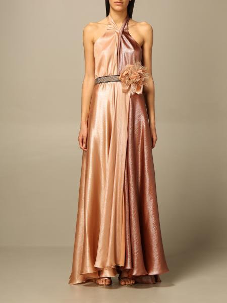 Hanita: Abito lungo H Couture bicolor