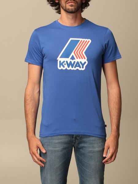 T-shirt Pete K-way in cotone con stampa logo