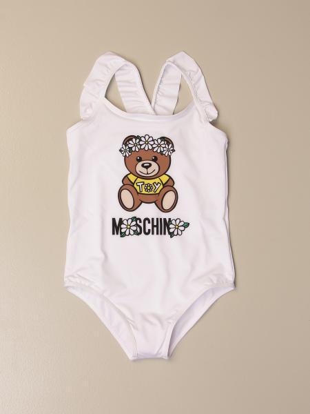 Costume intero Moschino Kid con big Teddy fiore